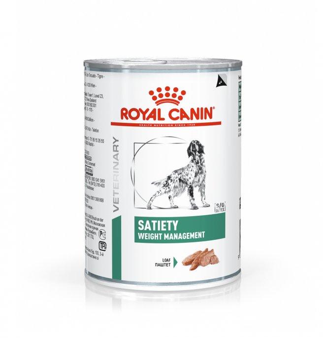 Royal canin cane diet satiety da 410 gr in lattina