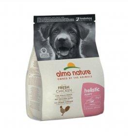 Almo nature cane holistic puppy small con pollo e riso da 2 kg