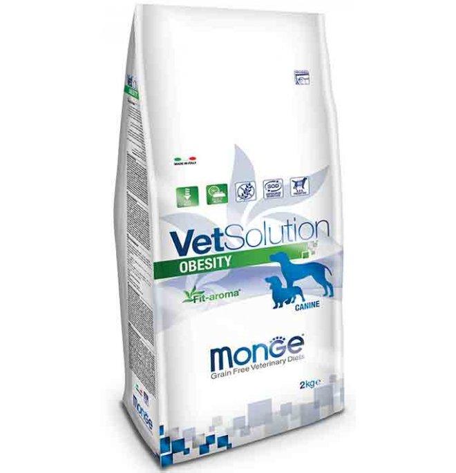 Monge vetsolution cane grain free veterinary diet obesity da 2 kg