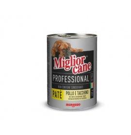Morando miglior gatto professional pate' pollo e tacchino da 400 gr in lattina