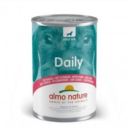 Almo nature cane dailymenu con maiale da 400 gr
