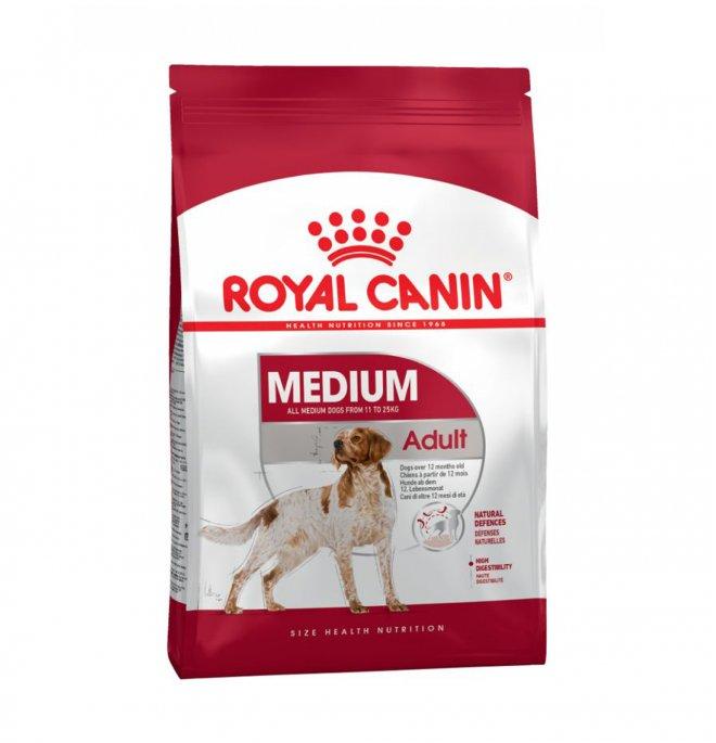 Royal canin cane adult medium da 15 kg