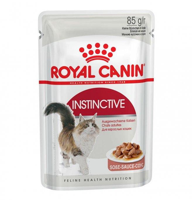 Royal canin gatto instinctive gravy da 85 gr in busta