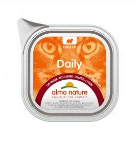Almo nature gatto dailymenu con anatra da 100 gr in vaschetta