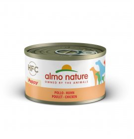 Almo nature cane classic puppy con pollo da 95 gr in lattina