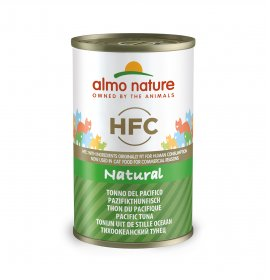 Almo nature gatto classic con tonno del pacifico da 140 gr in lattina