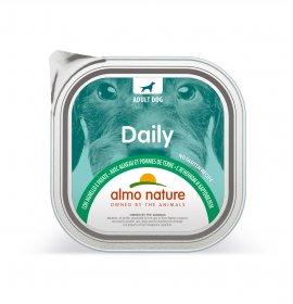 Almo nature cane dailymenu con agnello e patate da 300 gr in vaschetta