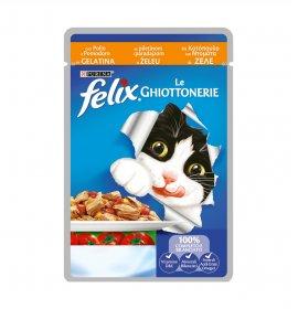 Purina felix agail gatto al pollo e pomodori da 100 gr in busta
