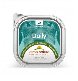 Almo nature cane dailymenu con tacchino e zucchine da 300 gr in vaschetta