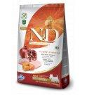 Farmina n&d delicious grain free cane adult mini con pollo zucca melograno da 7 kg