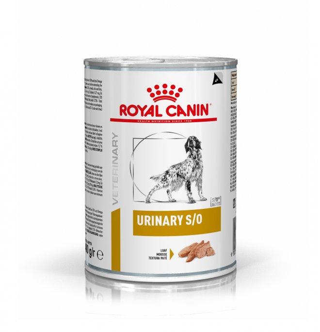 Royal canin cane diet urinary s/o da 410 gr in lattina