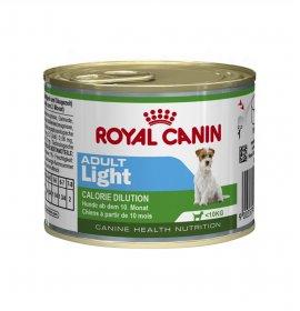 Royal canin cane mini adult light da 195 gr in lattina