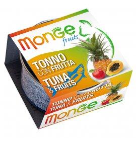 Monge gatto fruit al tonno e frutta da 80 gr in lattina