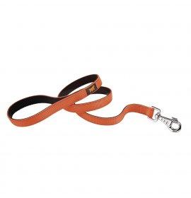 Ferplast cane guinzaglio dual g 25 / 110 arancio