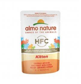 Almo nature gatto classic cuisine kitten pollo 55 gr