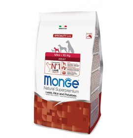 Monge superpremium cane adult mini agnello riso patate da 800 gr