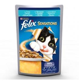 Purina felix sensations gatto alla trota e spinaci da 100 gr in busta