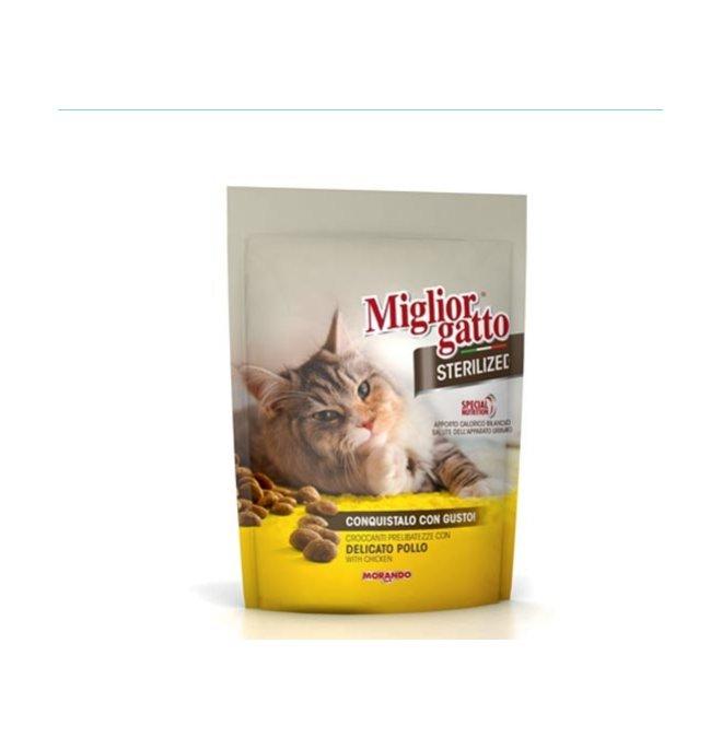 Morando miglior gatto sterilised pollo delicato da 800 gr