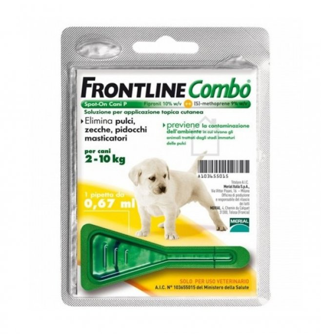 Merial cane frontline combo cucciolo 2 - 10 kg 1 pipetta