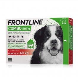 Merial cane frontline combo superiore 40 kg 3 pipette