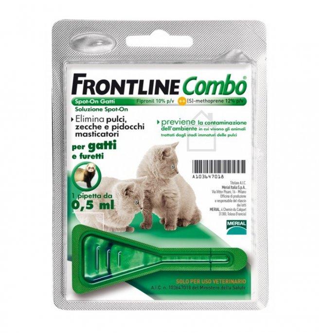 Merial gatto frontline combo gattino 1 pipetta