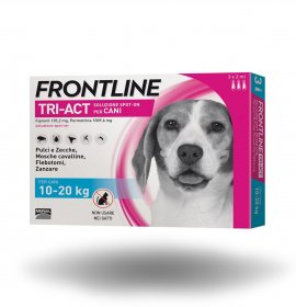 Merial cane frontline tri - act spot - on 10 - 20 kg 3 pipette