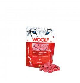 Woolf cane snack striscia morbida ai mirtilli rossi da 100 gr