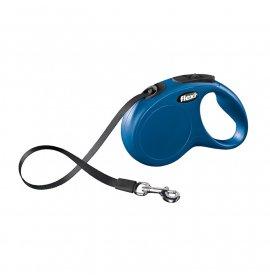 Flexi new classic fettuccia 5m s blu