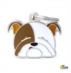 Medaglietta bulldog inglese