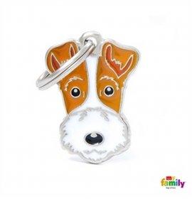 Medaglietta fox terrier