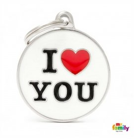 Medaglietta cerchio big i love you