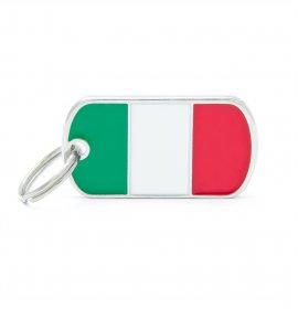 Medaglietta bandiera italiana