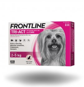 Merial cane frontline tri - act spot - on 2 - 5 kg 3 pipette