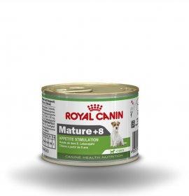 Royal canin cane mini mature 8 + da 195 gr in lattina