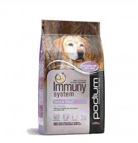 Podium immuny system cane adult senior meat da 12 kg