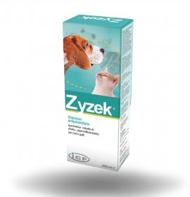 Icf cane e gatto zyzek shampoo antiparassitario da 200 ml