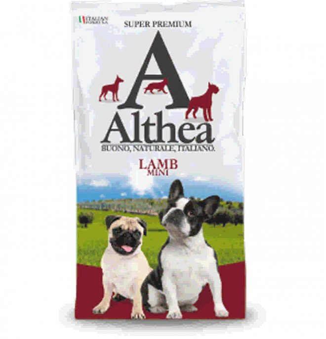 Althea cane superpremium adult mini agnello da 1 kg