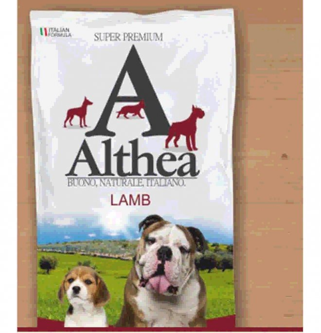Althea cane superpremium adult large agnello da 2,5 kg