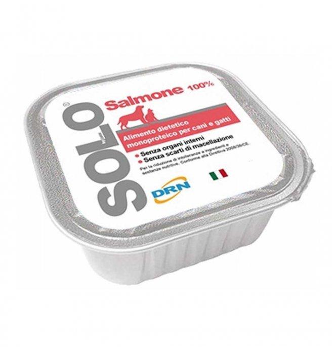 Drn solo salmone monoproteico da 300 gr in vaschetta