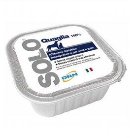 Drn solo quaglia monoproteico da 100 gr in vaschetta