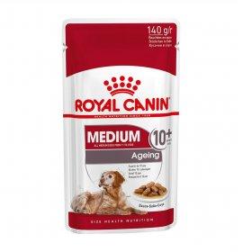 Royal canin cane adult ageing + 10 medium in salsa da 140 gr in busta