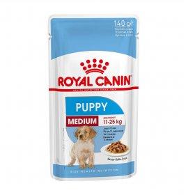 Royal canin cane puppy medium in salsa da 140 gr in busta