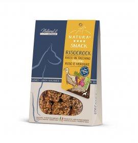 Cibus pet snack cane risocrock ricco in tacchino riso e verdure linea balance+ da 80 gr
