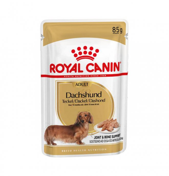 Royal canin cane breed bassotto adult da 85 gr in busta
