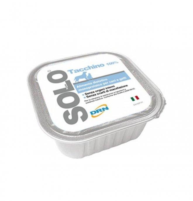 Drn solo tacchino monoproteico da 100 gr in vaschetta