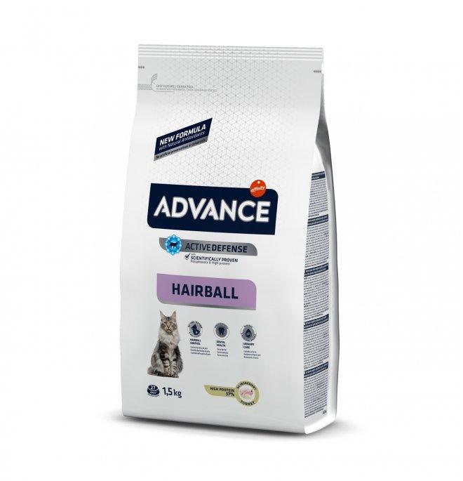 Affinity advance gatto sterlizzato hairball al tacchino da 1,5 kg