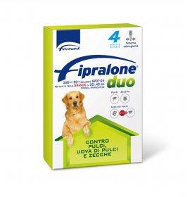 Formevet antiparassitario fipralone duo spot on per cani di taglia grande da 20 a 40 kg 4 pipette da 2,68 ml