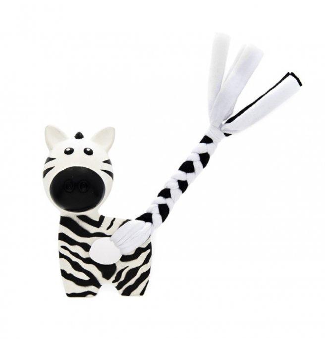 Ferribiella juventus official product gioco cane zebra in morbido lattice naturale mis. 7 x 10 cm