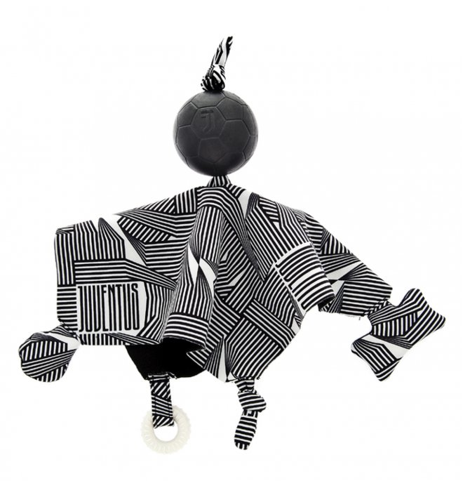 Ferribiella juventus official product gioco cane doudou con palla mis. 35 x 30 x 7 cm