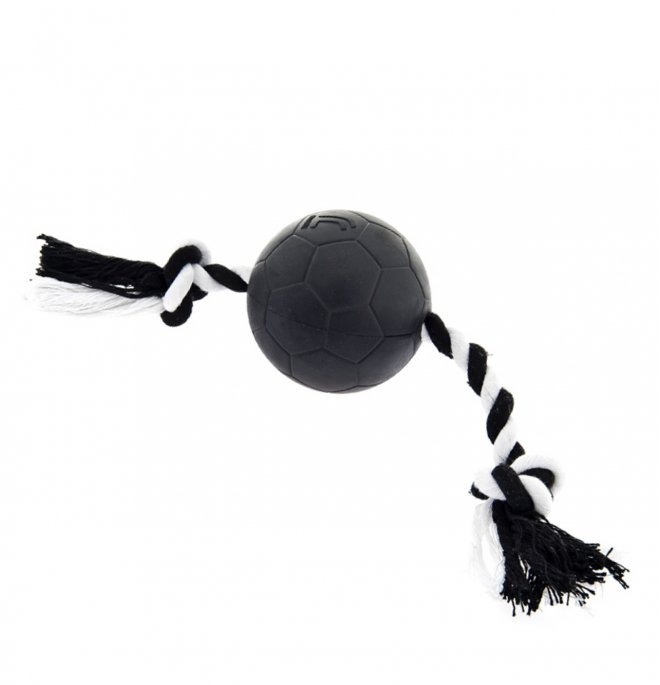 Ferribiella juventus official product gioco cane pallacorda mis. 7 x 26 cm